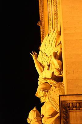 Paris France - Arc De Triomphe - 01133 Poster by DC Photographer