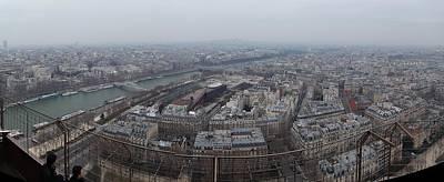 Paris France - Eiffel Tower - 01131 Poster by DC Photographer
