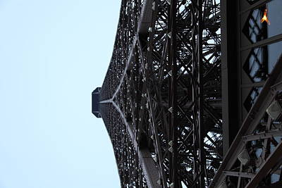 Paris France - Eiffel Tower - 011314 Poster by DC Photographer