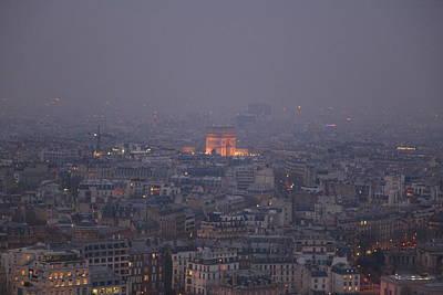 Paris France - Eiffel Tower - 011318 Poster by DC Photographer