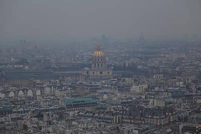 Paris France - Eiffel Tower - 01133 Poster by DC Photographer