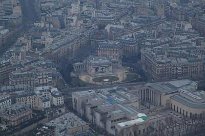 Paris France - Eiffel Tower - 01139 Poster by DC Photographer