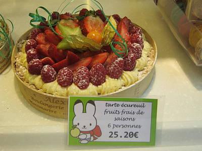 Paris France - Pastries - 121241 Poster by DC Photographer