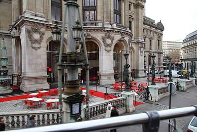 Paris France - Street Scenes - 0113116 Poster by DC Photographer