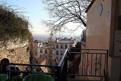 Paris France - Street Scenes - 01138 Poster by DC Photographer
