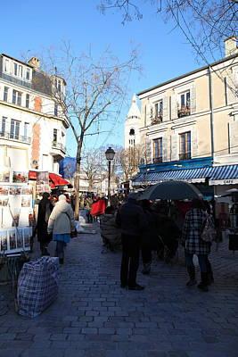 Paris France - Street Scenes - 01139 Poster