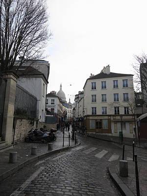Paris France - Street Scenes - 121215 Poster by DC Photographer