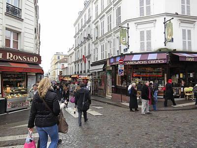 Paris France - Street Scenes - 121233 Poster