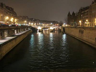 Paris France - Street Scenes - 12124 Poster by DC Photographer