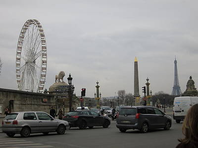 Paris France - Street Scenes - 121245 Poster