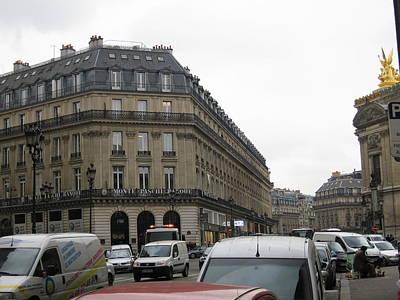 Paris France - Street Scenes - 121258 Poster by DC Photographer