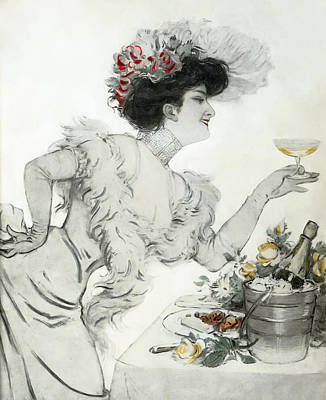 Paris Holiday  1904 Poster by Daniel Hagerman
