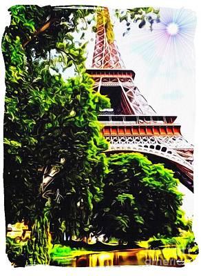 Paris In June Poster
