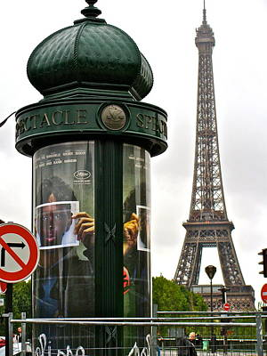 Poster featuring the photograph Paris by Ira Shander