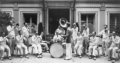 Paris Jazz Band, 1928 Poster by Granger