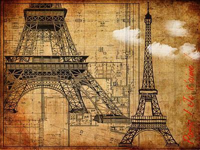 Paris Je T'aime Poster