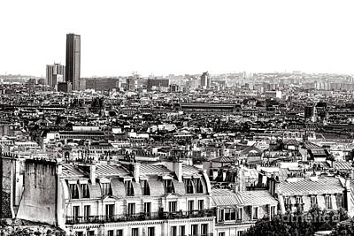 Paris Montparnasse Poster by Olivier Le Queinec