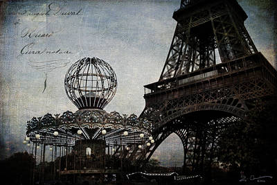 Paris One More Ride Poster