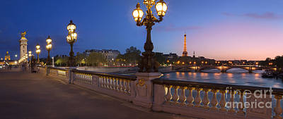 Paris Panoramic Poster by Brian Jannsen