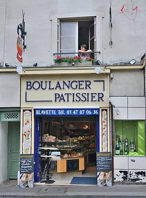 Paris Patissier Poster by Steven Richman