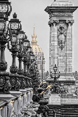 Paris Pompous Poster by Joachim G Pinkawa