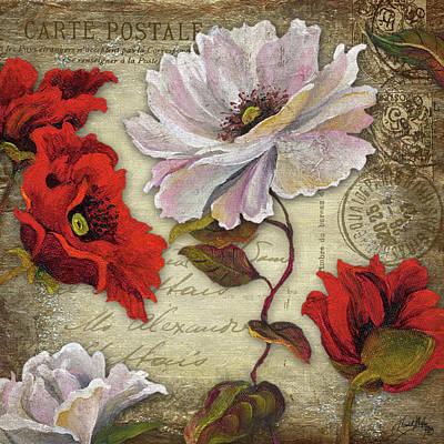 Paris Postcard I Poster