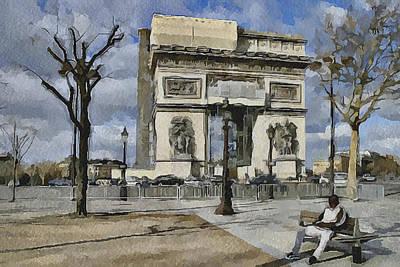 Paris Streets 2 Poster