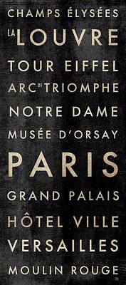 Paris Subway Poster