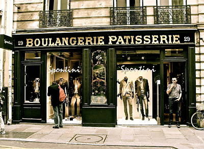 Poster featuring the photograph Paris Waiting by Ira Shander