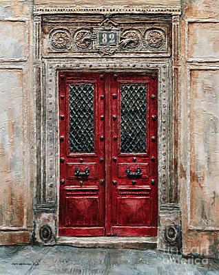 Parisian Door No.82 Poster