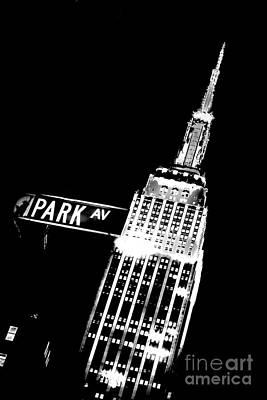 Park Avenue Poster by Az Jackson