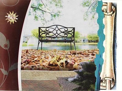 Park Bench Poster by Matthew Hoffman