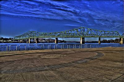 Poster featuring the photograph Parkersburg Point Park by Jonny D
