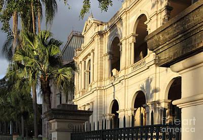 Parlament House In Brisbane Australia Poster