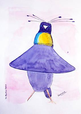 Parotia Dancing - Bird Of Paradise Poster by Keshava Shukla
