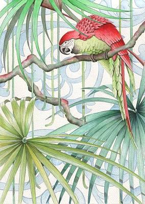 Parrot, 2008 Poster by Jenny Barnard
