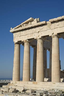 Parthenonathens Greece Poster by Daniel Alexander