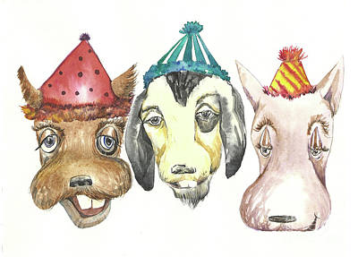 Party Dogs Poster