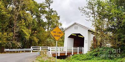 Parvin Covered Bridge Poster