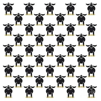 Paschal Lamb Poster by Michal Boubin