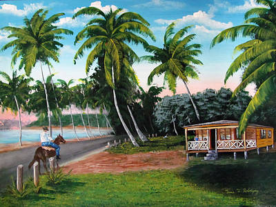 Paseo Por La Isla Poster