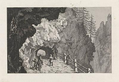 Passage In The Rocks, David Van Der Kellen IIi Poster