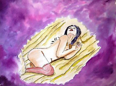 Passion Dream. Poster by Shlomo Zangilevitch