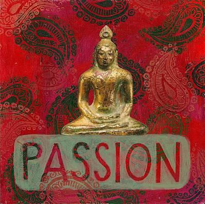 Passion Poster by Jennifer Mazzucco