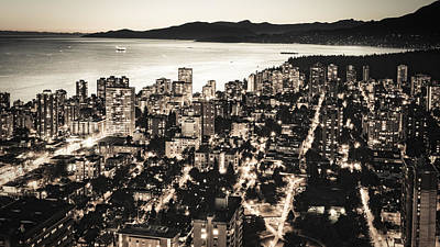 Poster featuring the photograph Passionate English Bay. Mccclxxviii By Amyn Nasser by Amyn Nasser