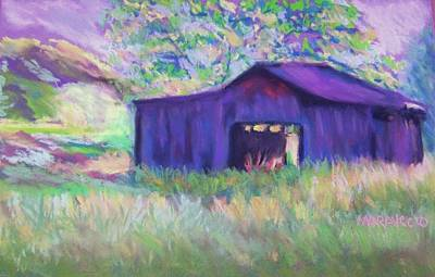 Pastel Barn II Poster by Shirley Moravec