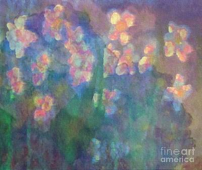 Pastel Petals Poster by Holly Martinson