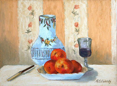 Pastel Study Poster by Marna Edwards Flavell