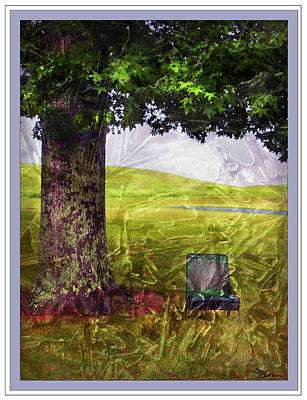 Pastoral Abstract Poster by Peggy Dietz