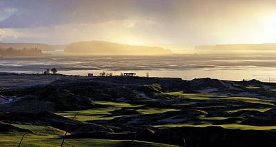 Poster featuring the photograph Pastoral Symphony - Chambers Bay Golf Course by Chris Anderson
